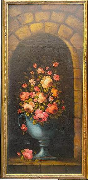 Quadri for Quadri ad olio con fiori